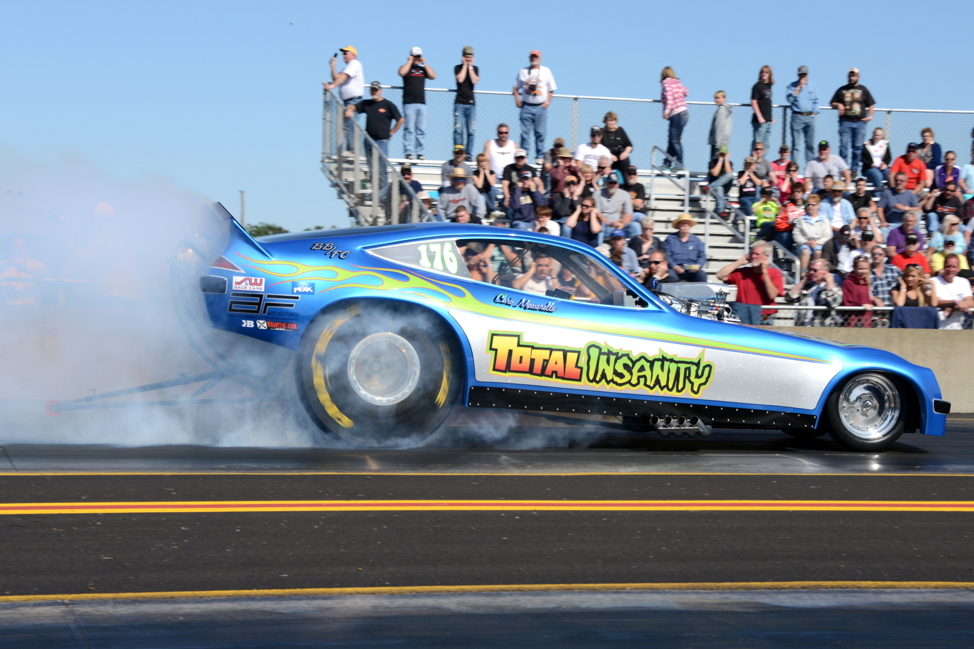 The Pace Performance Funny Car Nationals Over 24
