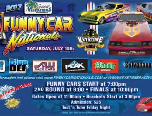 Video Commercial for the Good Vibrations Motorsports Funny Car Nationals