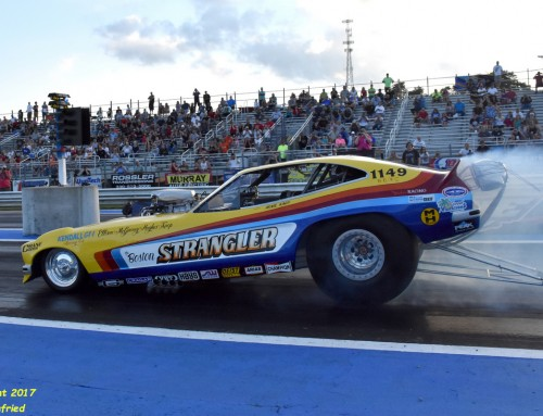 2018 Funny Car Nationals held on July 14th